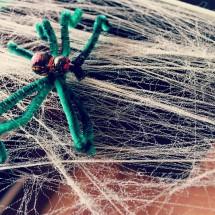 DIY Decor- Creepy Spiders