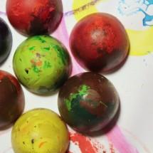 DIY Art Materials: Recycled Crayons