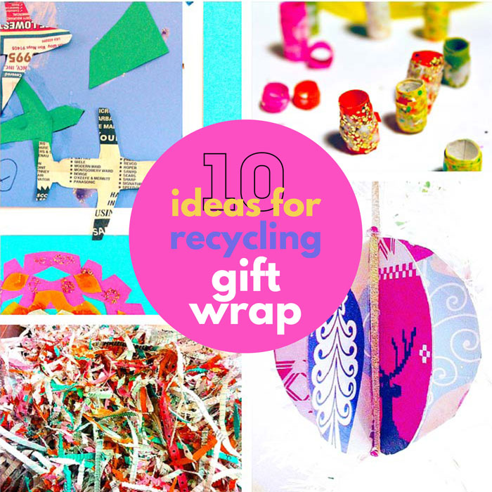 Creative Ideas for Recycling Gift Wrap
