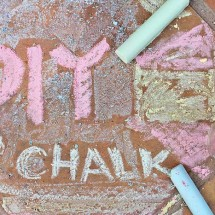 DIY Art Material: Chalk