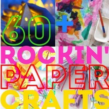 60+ Rockin' Paper Crafts