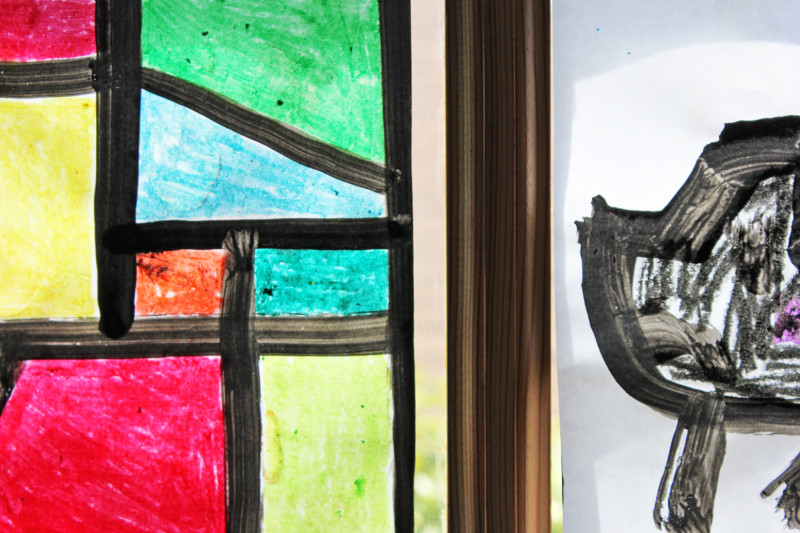 Faux Stained Glass | BABBLE DABBLE DO