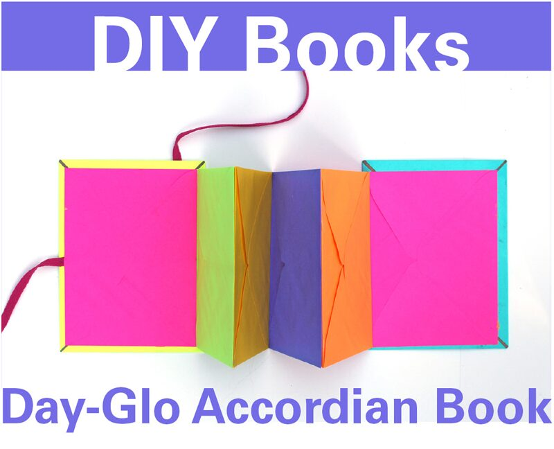 Day-Glo-Accordian-Book-BABBLE-DABBLE-DO