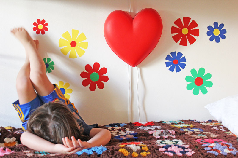 Flower-Power-Wall-Decals--in-room-2-BABBLE-DABBLE-DO