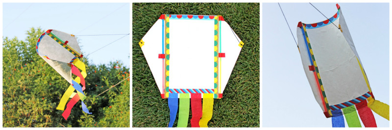 Learn how to make a kite out of Tyvek or a plastic bag.