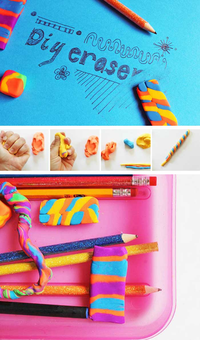 Make your own DIY erasers just in time for school!