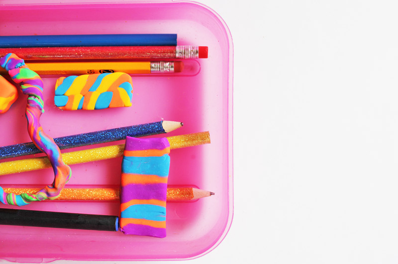 Back to School Art & Design Activity: DIY Erasers