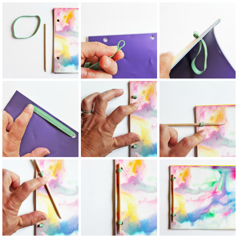 5 Simple Book Binding Methods For Handmade Journals Babble Dabble Do