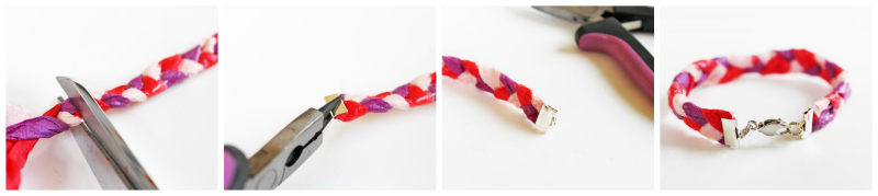 Design For Kids Crepe Paper Bracelets