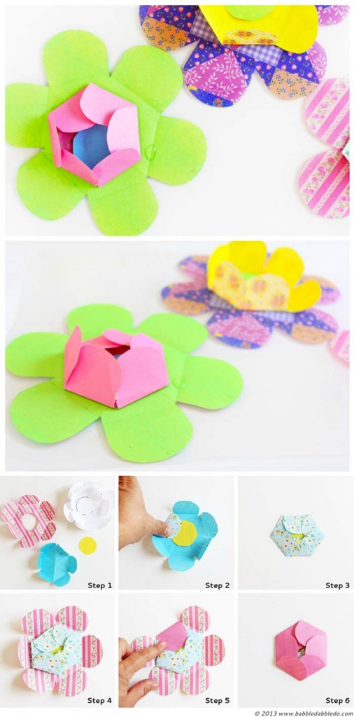 Science for Kids: Kirigami Water Blossoms