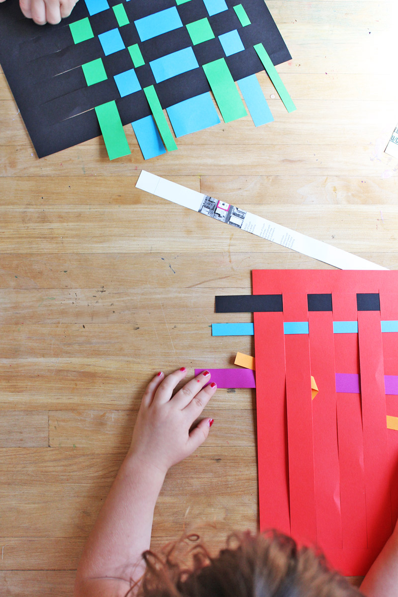 Art for Kids: Paper Weaving