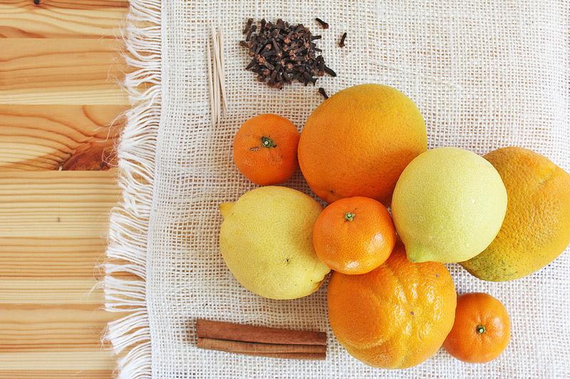 Making a Citrus Pomander BABBLE DABBLE DO