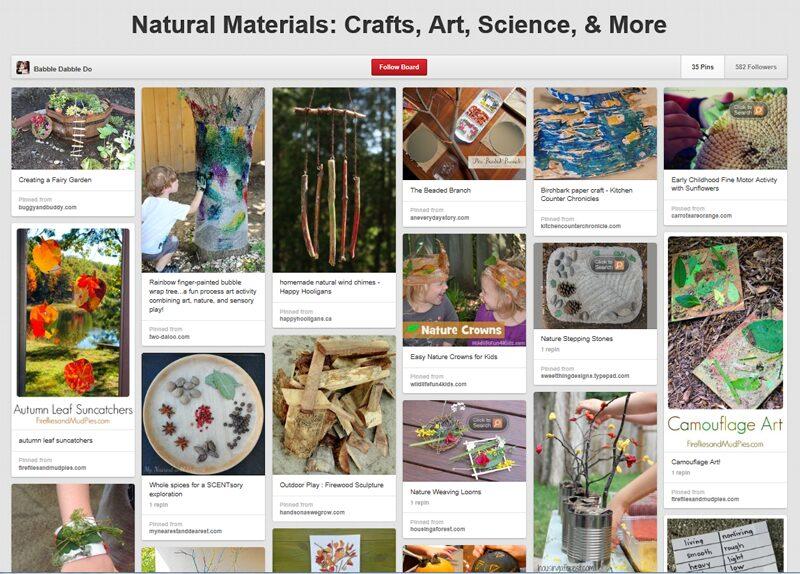 Natural-Materials-Pinterest-Board