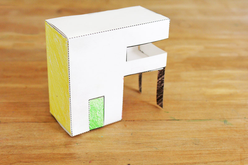 Cut Fun Paper Craft For Kids 3 Templates Houses You Can Print