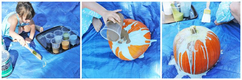 Art for Kids: Pollock Pumpkins