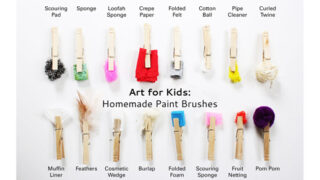 Make DIY Paint Brushes