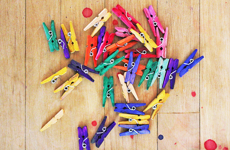 Mini Clothespin Craft