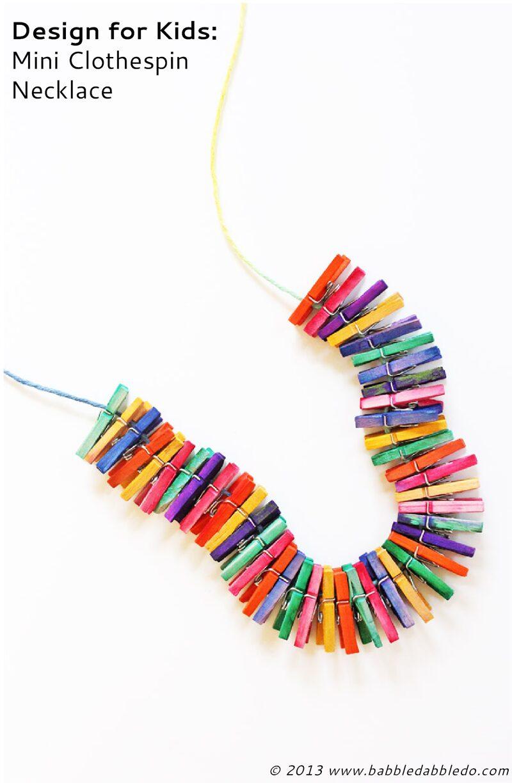Mini Clothespin Craft