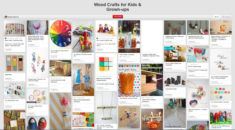 Wood-Crafts-Pinterest-Board