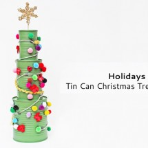 Tin Can Christmas Tree Activity