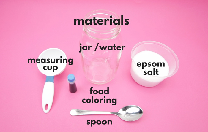 Learn how to grow crystals overnight using Epsom salt! Great project for the science fair.