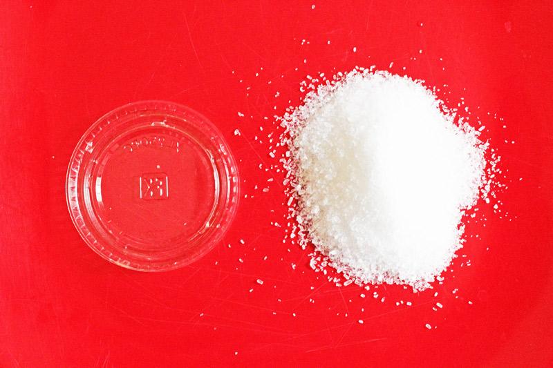 For a unique suncatcher craft, try making these Crystal Suncatchers using Epsom Salt!