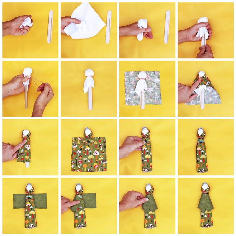 Design For Kids How To Make A Doll Babble Dabble Do