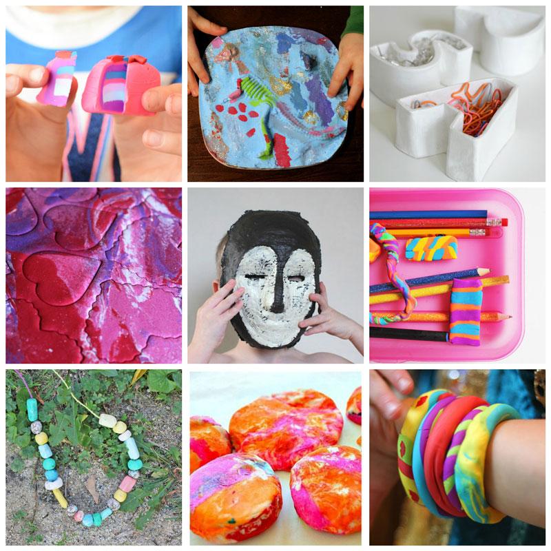 ceramics for kids collage