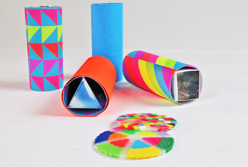 DIY Teleidoscopes A Simple Open Ended Kaleidoscope You Can Make At Home Great