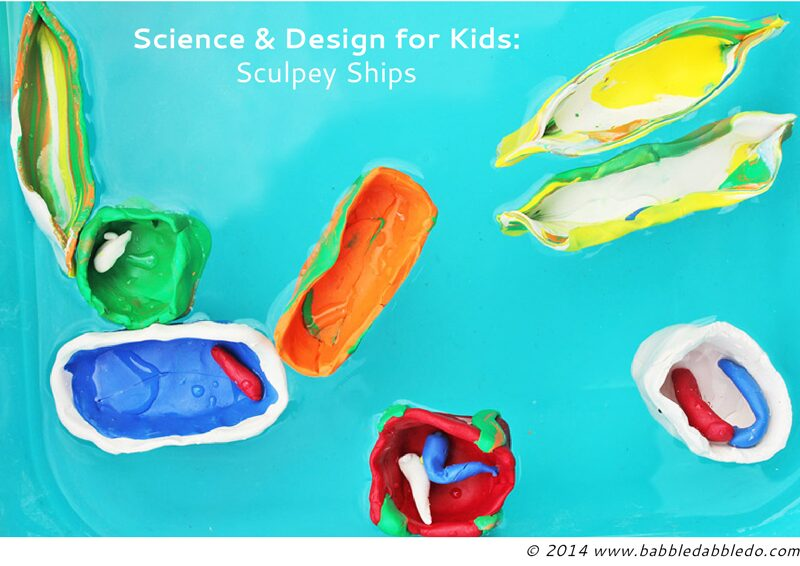 clay boats science for kids