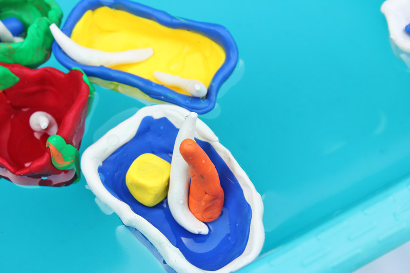 clay boat science for kids