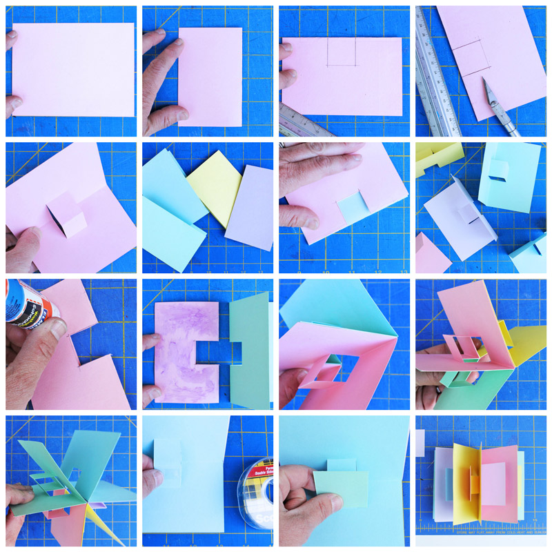 simple pop up book tutorial