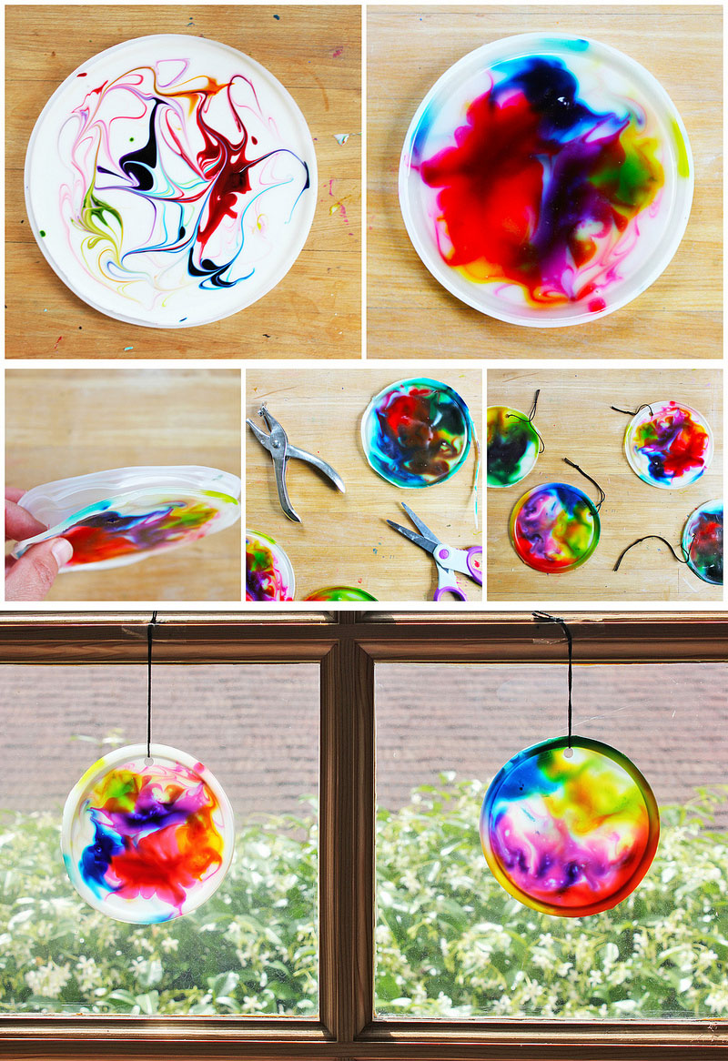 Art For Kids Cosmic Suncatchers Babble Dabble Do