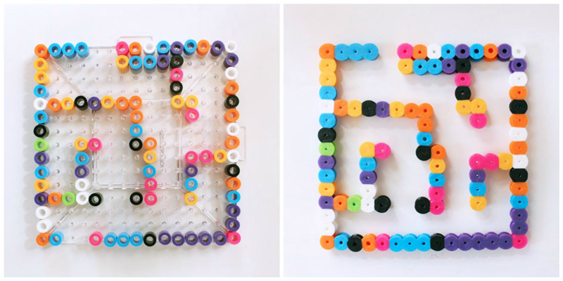 DIY Toy: Perler Bead Mazes - Babble Dabble Do