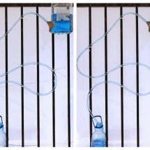 Science Experiments for Kids: Siphon Water Coaster