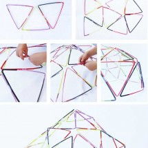 Straw Structures Inspired by the Kids Activities Blog Book
