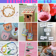 Materials Series: 18 Metal Projects for Kids