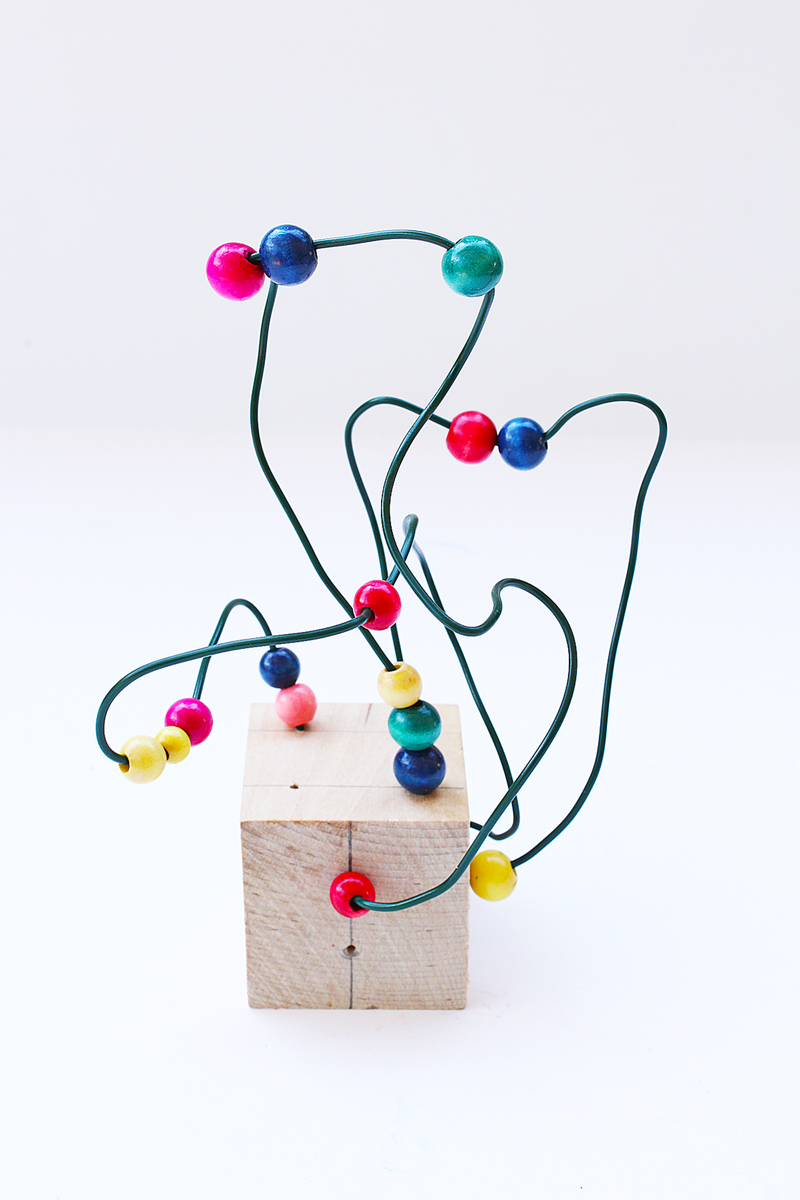 Easy Art For Kids Wire Sculpture BABBLE DABBLE
