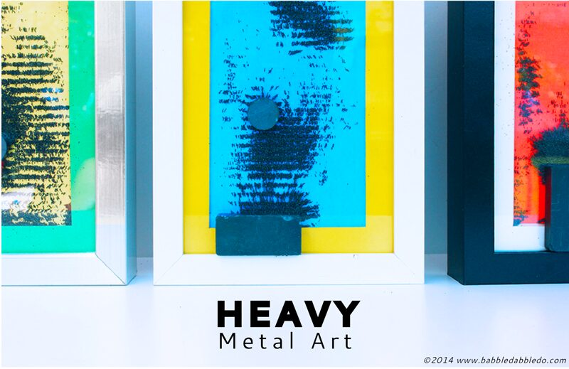 Magnetism for Kids: Heavy Metal Art Boxes