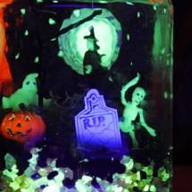 Halloween Crafts: Glow in the Dark Terror-arium