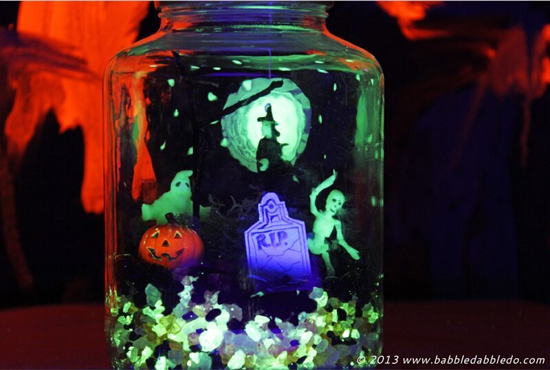 Halloween Crafts for Kids: Make a Glow-in-the-Dark Terror-arium
