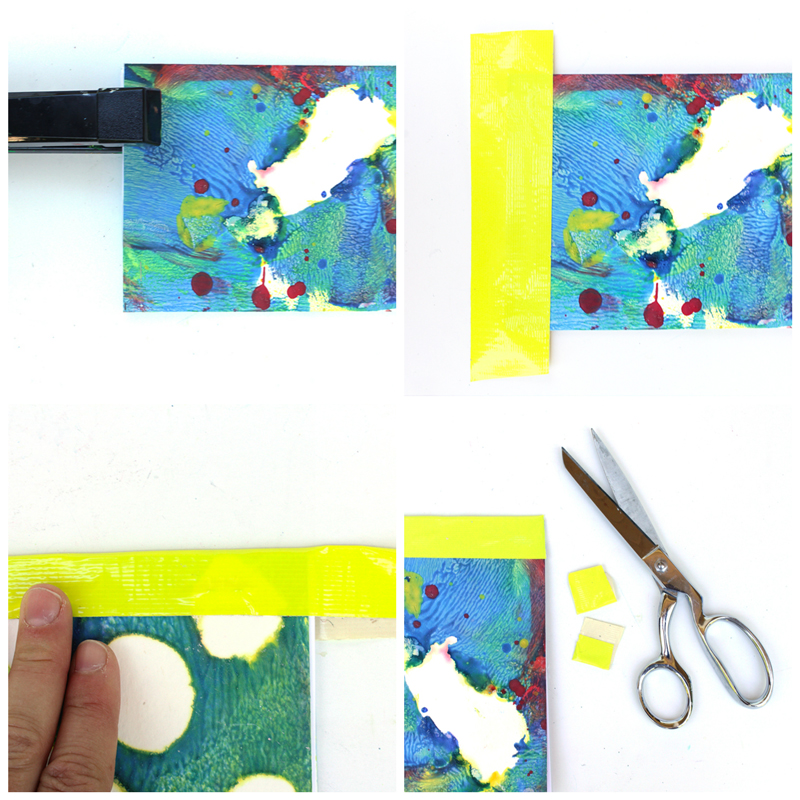 Recycled Art Journals and the Easiest Bookbinding (EVER!)