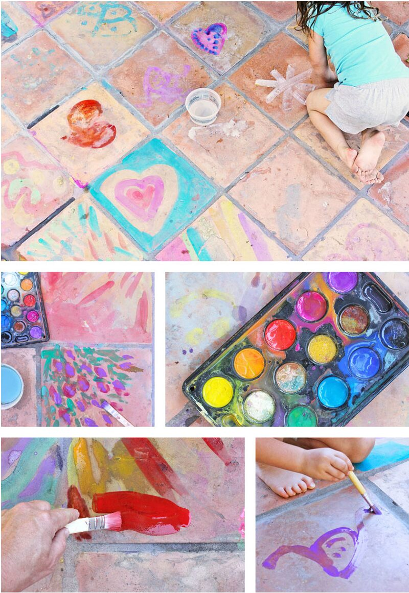 Easy-Art-Ideas-Watercolor-on-Tile-BABBLE-DABBLE-DO-cropped