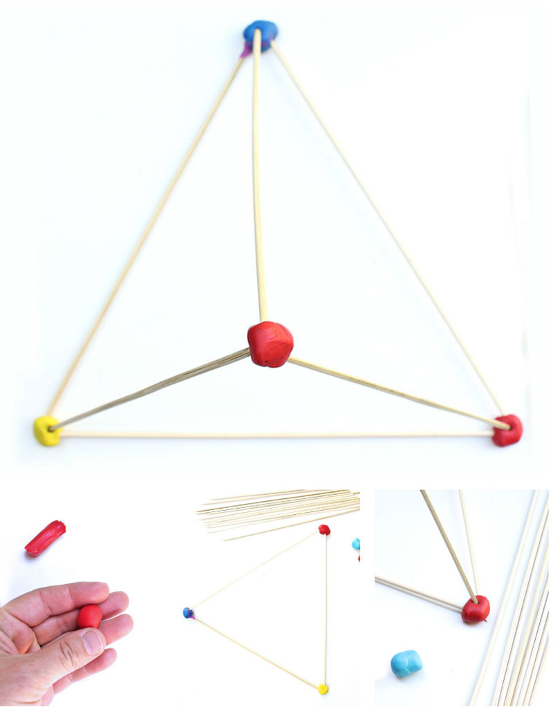 Engineering for Kids: Build tall and colorful structures with skewers