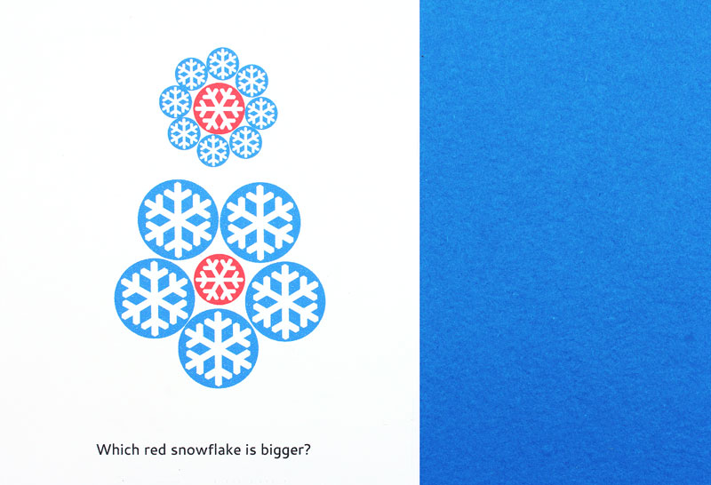 Holiday Printables for Kids: Christmas Optical Illusions: Amaze your friends with these 5 holiday themed optical illusions.