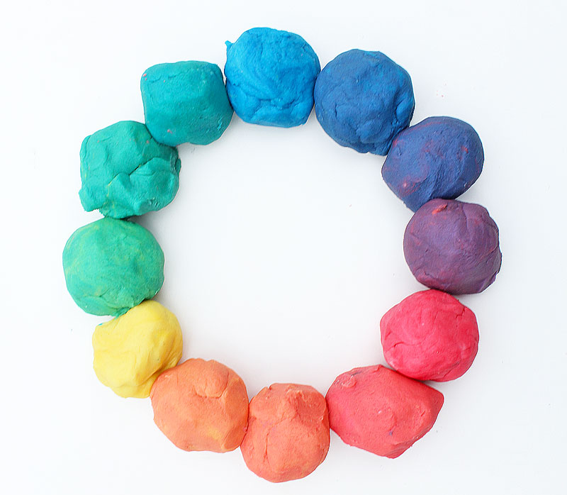 Learn How To Make Playdough And Explore Color Theory By Creating A Rainbow Play Dough