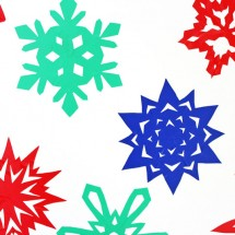 Sticky Snowflakes