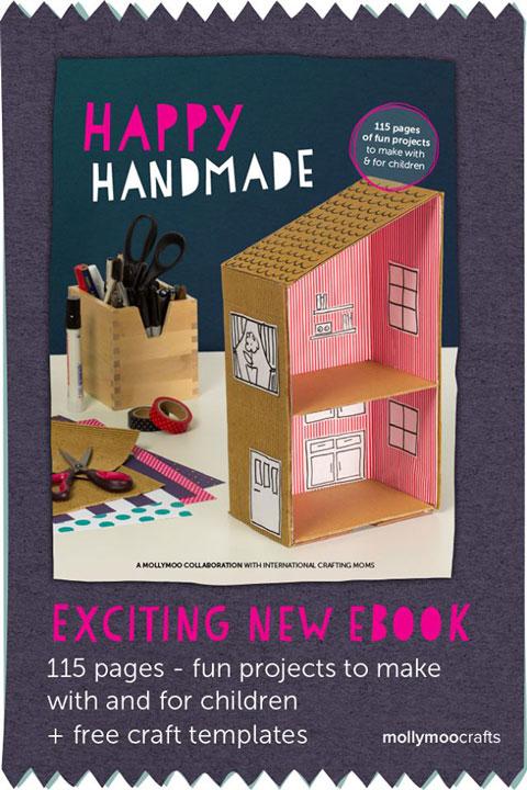 Crafts for Kids: Happy Handmade eBook