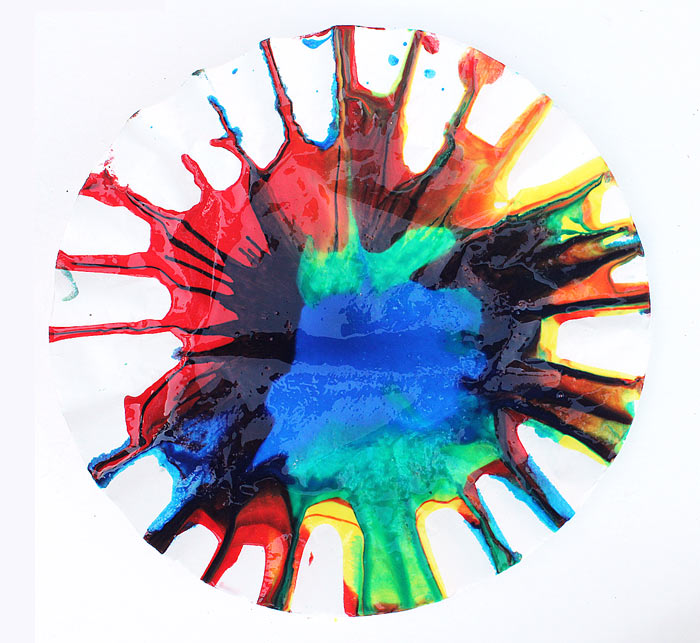 Science Art Rainbow Spin Mixing Explore Color Theory And Physics In This Simple