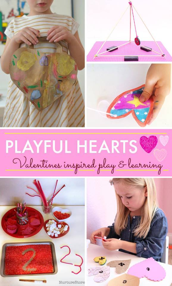 5 Valentine's inspired activities for kids
